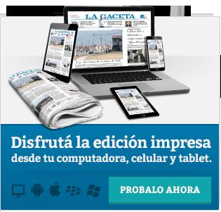 Edición impresa de La Gaceta