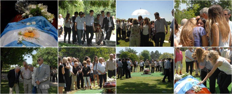 Sepultaron los restos de antonio domingo bussi la gaceta for Cementerio jardin de paz buenos aires