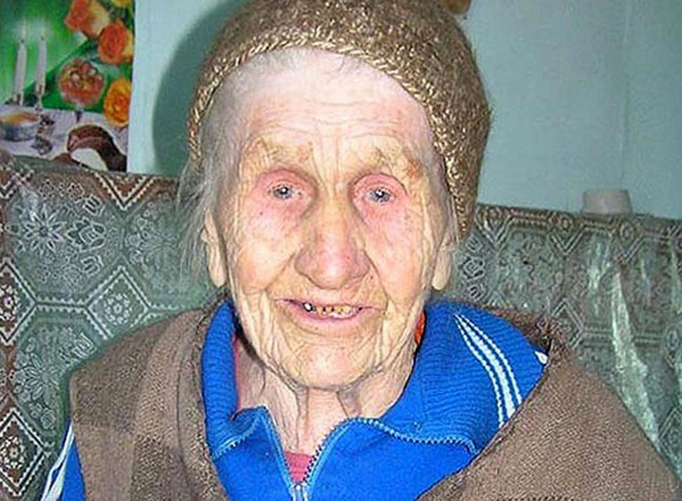 Una anciana dama rusa