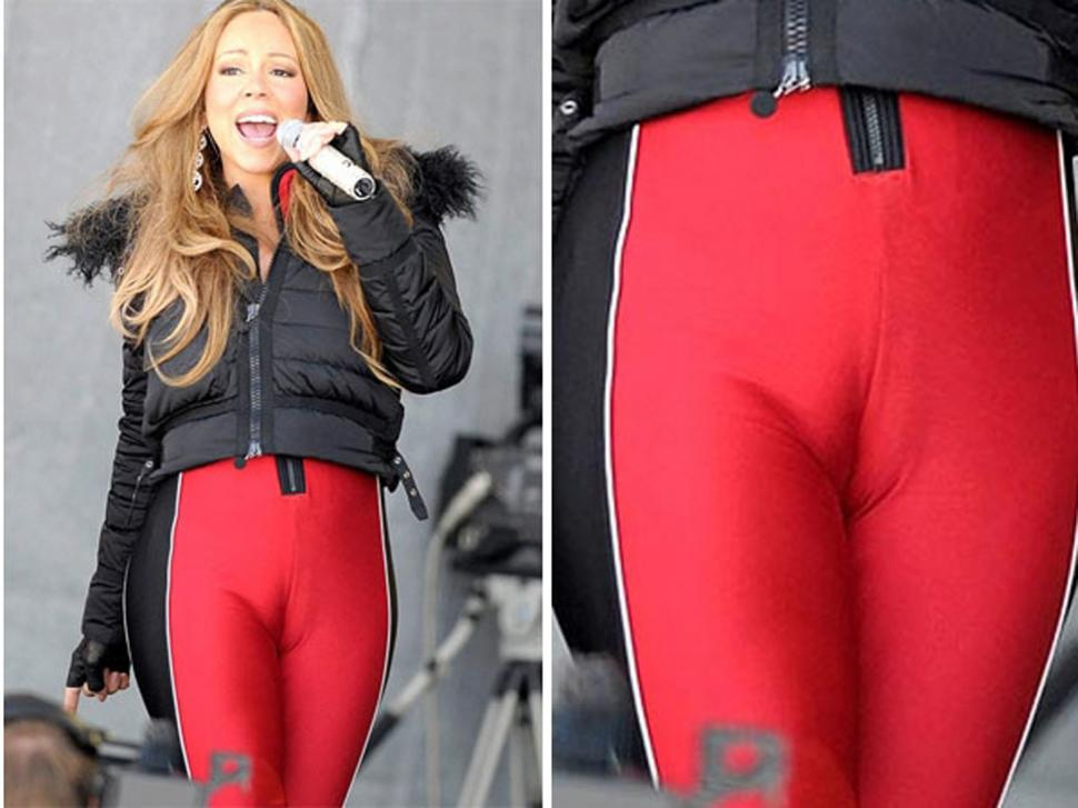 Las Calzas De Mariah Carey Mostraron M S Lo Que Deber A