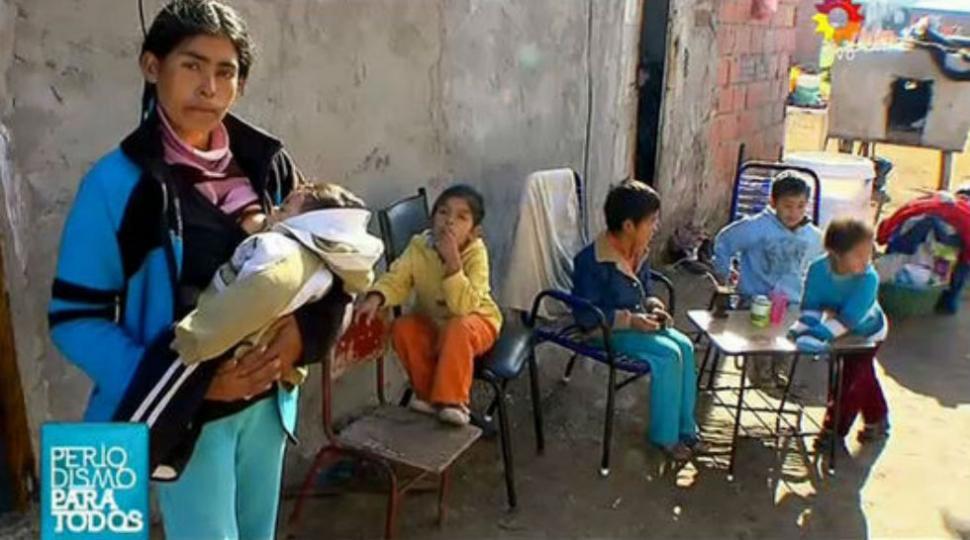 Resultado de imagen para adolescentes argentinos pobres