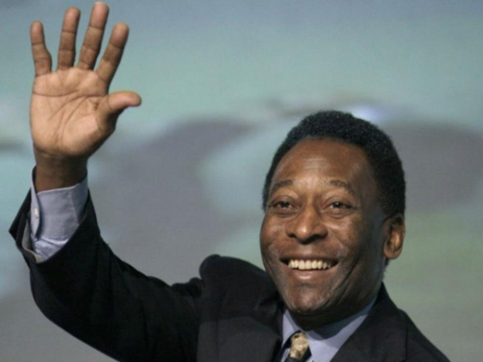 Pelé quiere que su caricatura sea la mascota del Mundial