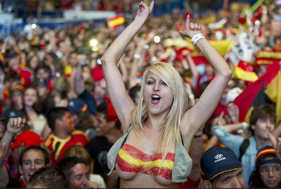 top-less España