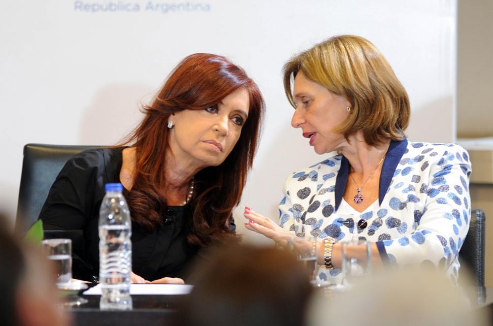 Cristina Kirchner Wilhelm y Beatríz Rojkés de Alperovich