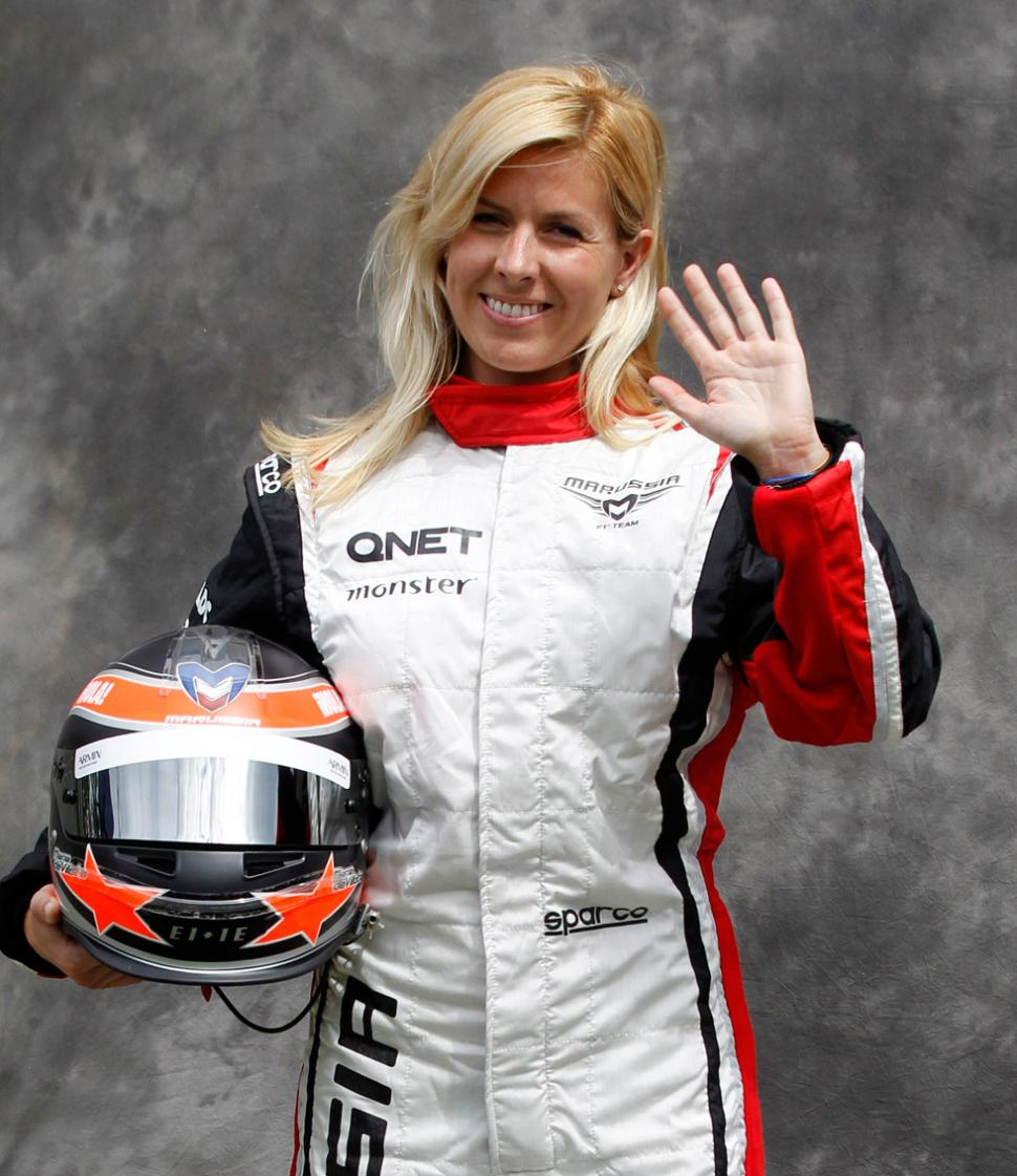 Conmoción en la F1 por accidente de María de Villota