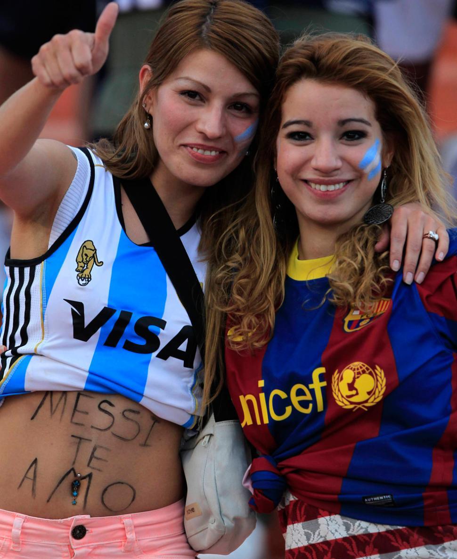 LOCAS POR LIO. Messi se llevó toda la atención, especialmente de las ...