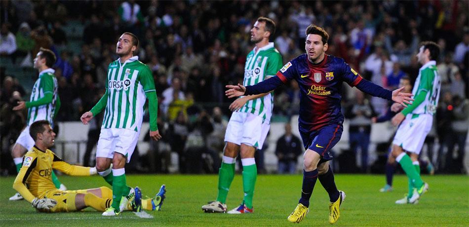 Estos son los 86 goles de Messi en 2012