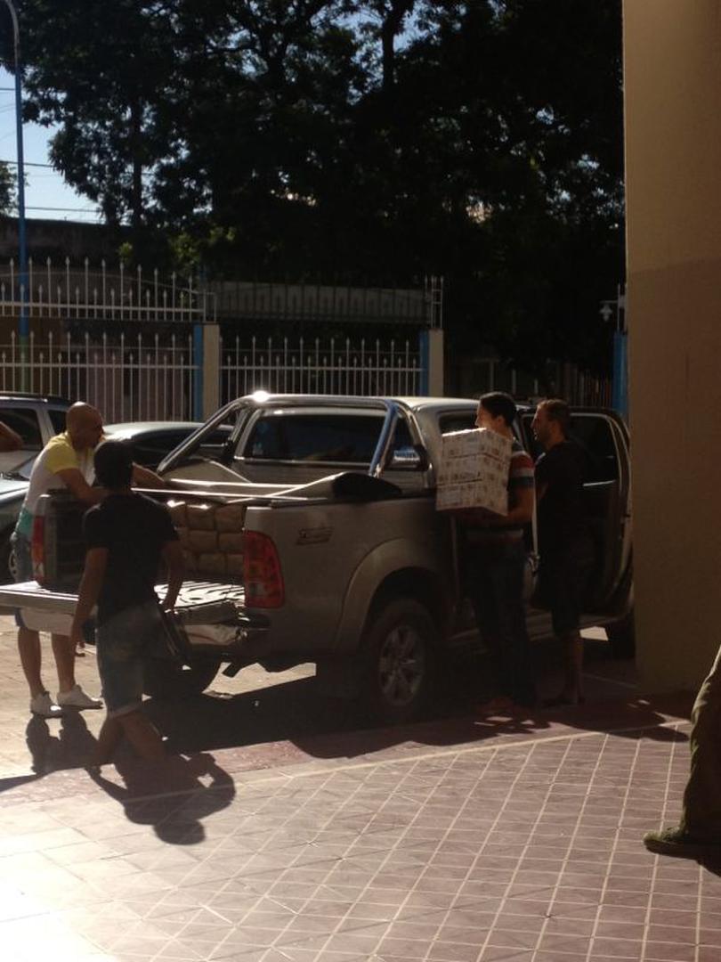 Atlético camioneta