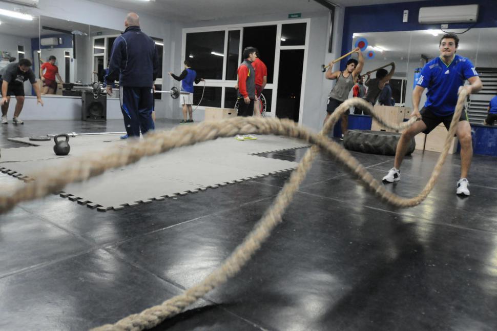 El entrenamiento militar llega a los gimnasios la gaceta for Entrenamiento gimnasio