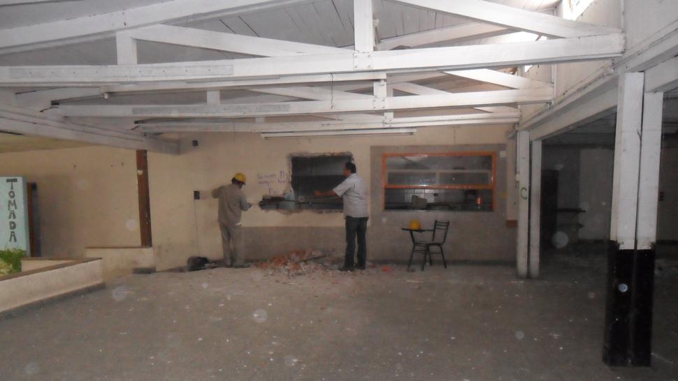 Unt se refacciona el espacio que ser destinado a comedor for Comedor estudiantil