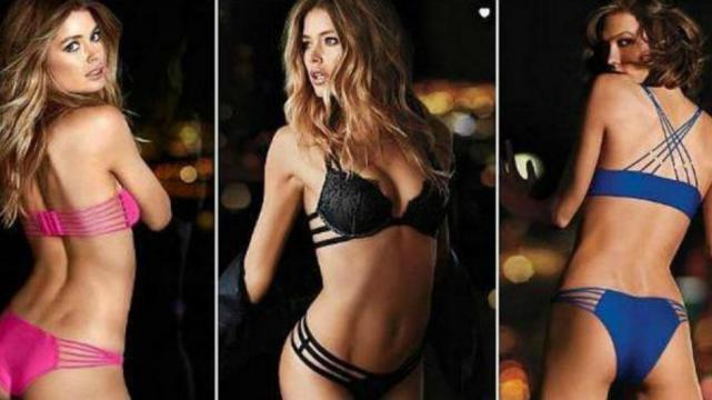 Victoria 39 s secret present su nueva l nea de ropa interior - Ropa interior de mujer victoria secret ...