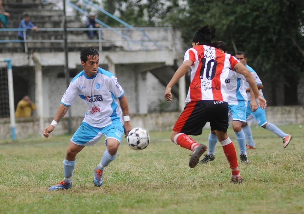 Deportivo Aguilares y Bella Vista igualaron 1 a 1