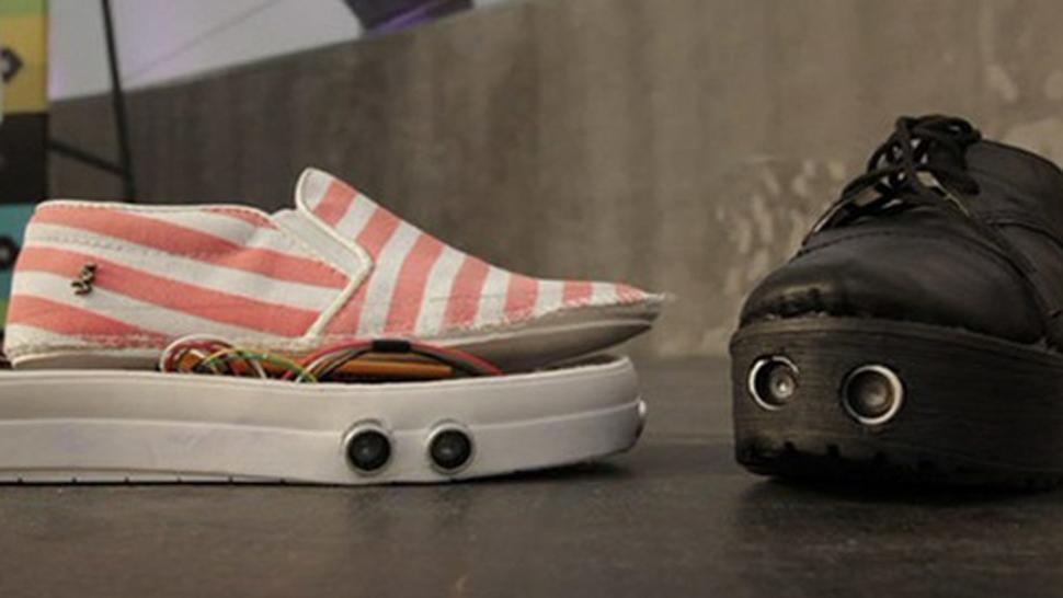 Un estudiante creó un calzado con GPS para ser usado por ciegos 640238_20150604122029