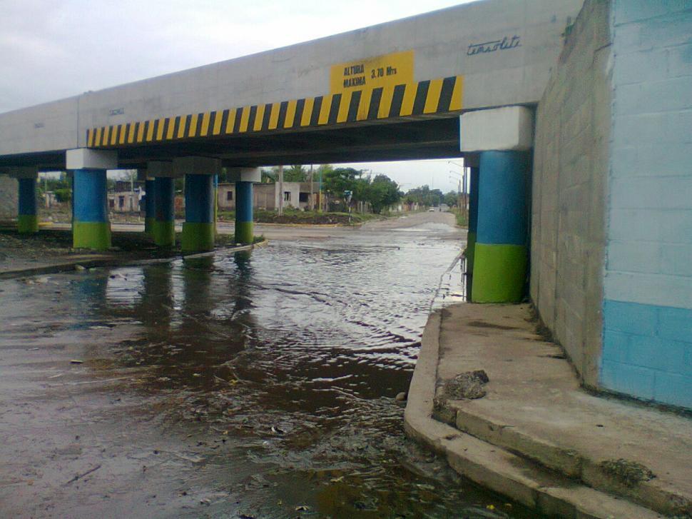 El Cruce De San Miguel Y M Xico Se Inunda Permanentemente