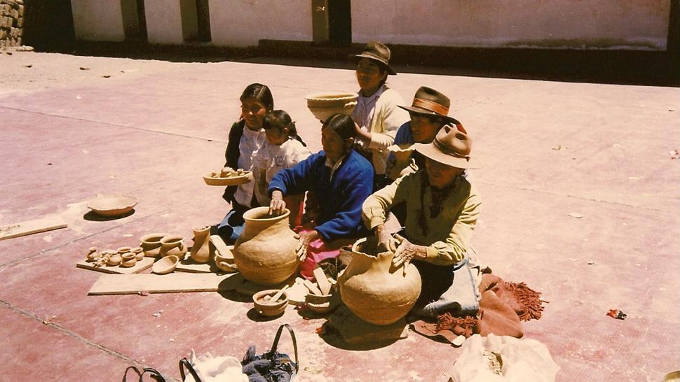 América Latina pueblos artesanías