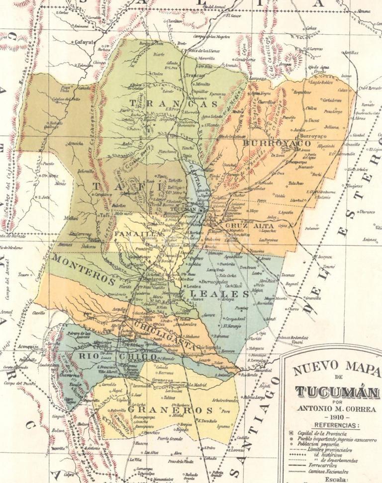 El plagio del primer mapa de tucum n la gaceta - La gaceta tucuman ...