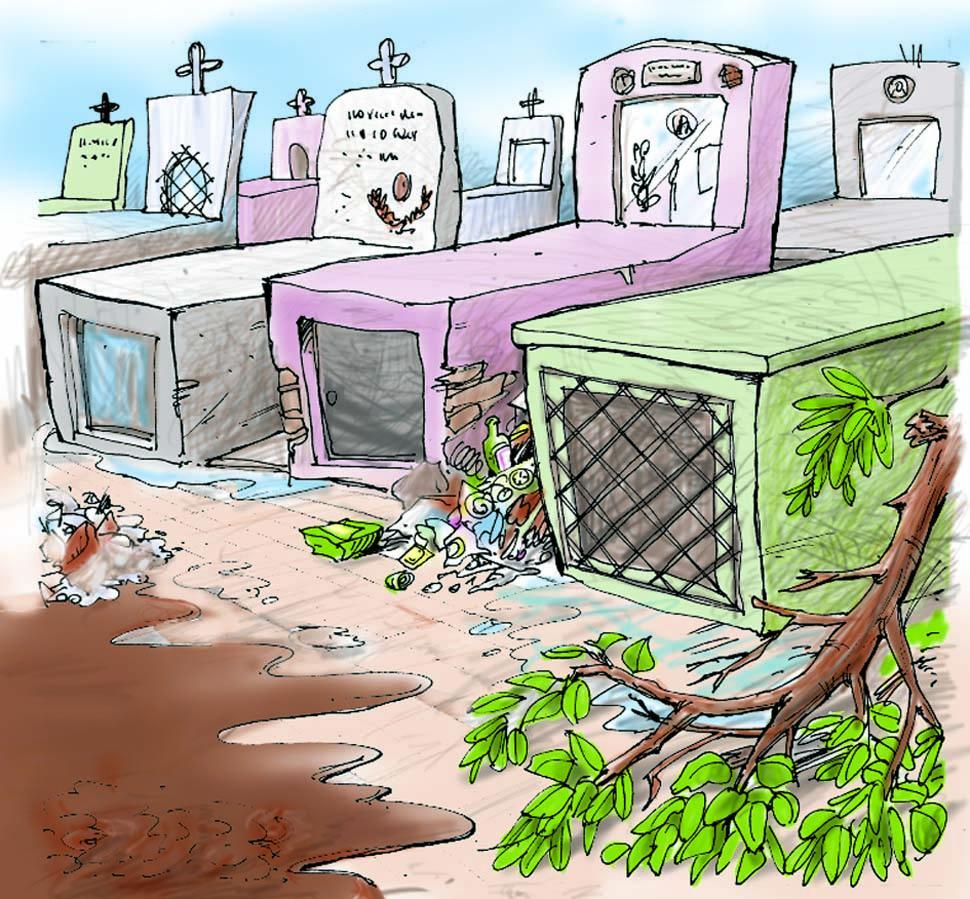 Cartas de lectores la gaceta for Cementerio jardin del mar