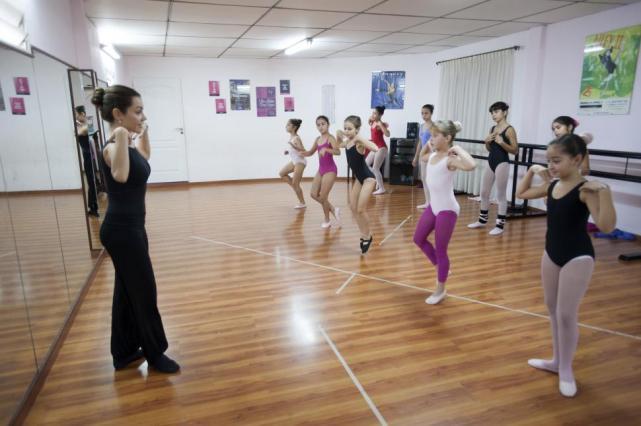 Una maestra de baile