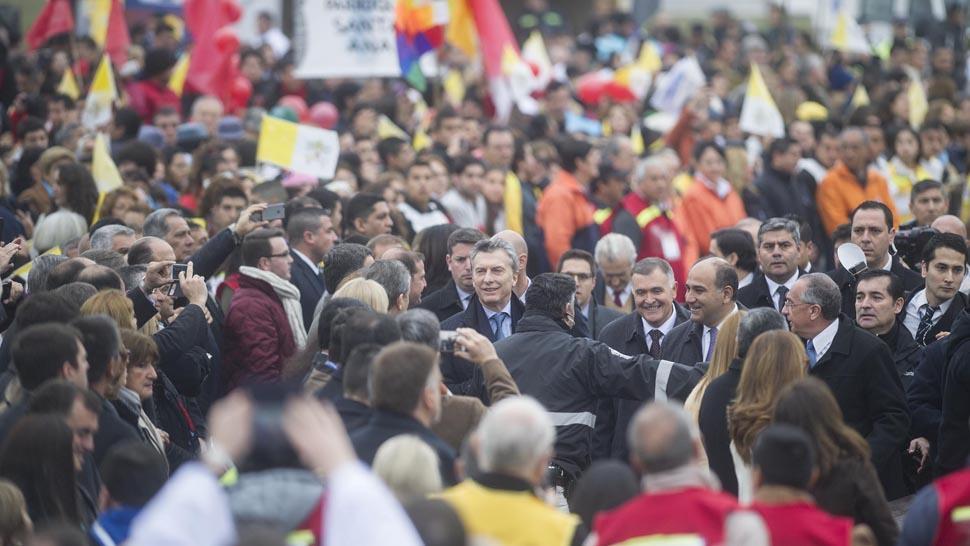 Macri participó del Congreso que restringió el acceso a las mujeres
