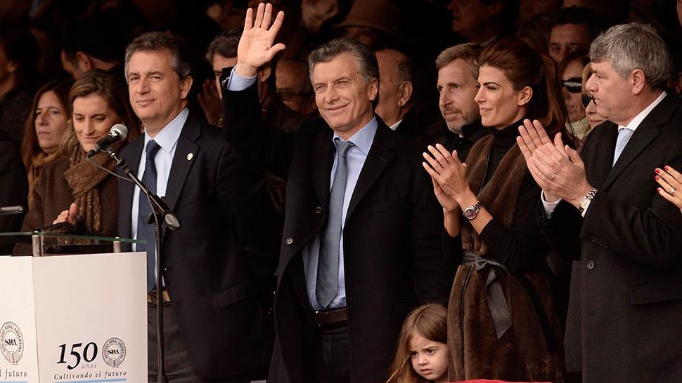 Resultado de imagen para apoyo del presidente Mauricio Macri al campo