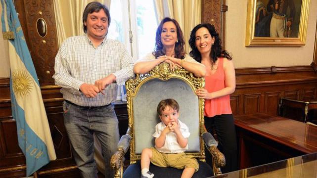 Máximo Kirchner y Rocío García padres por segunda vez: nació Emilia,