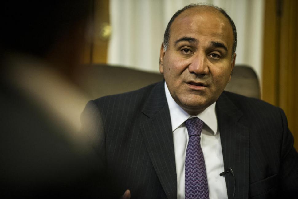 Manzur le baja el tono a los cruces con frigerio la gaceta for Declaraciones del ministro del interior hoy