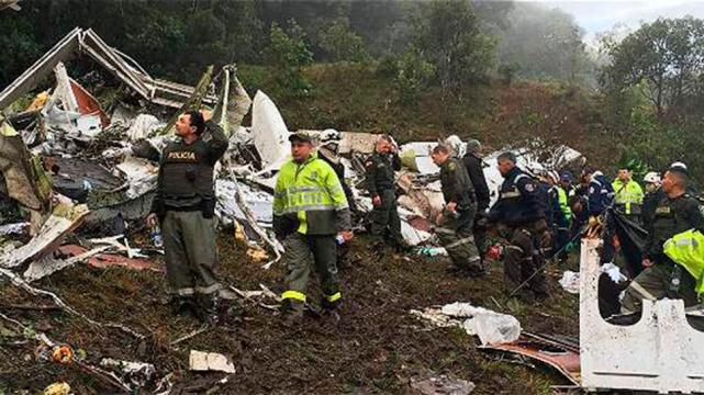 Aerocivil encontró las cajas negras del avión de Chapecoense