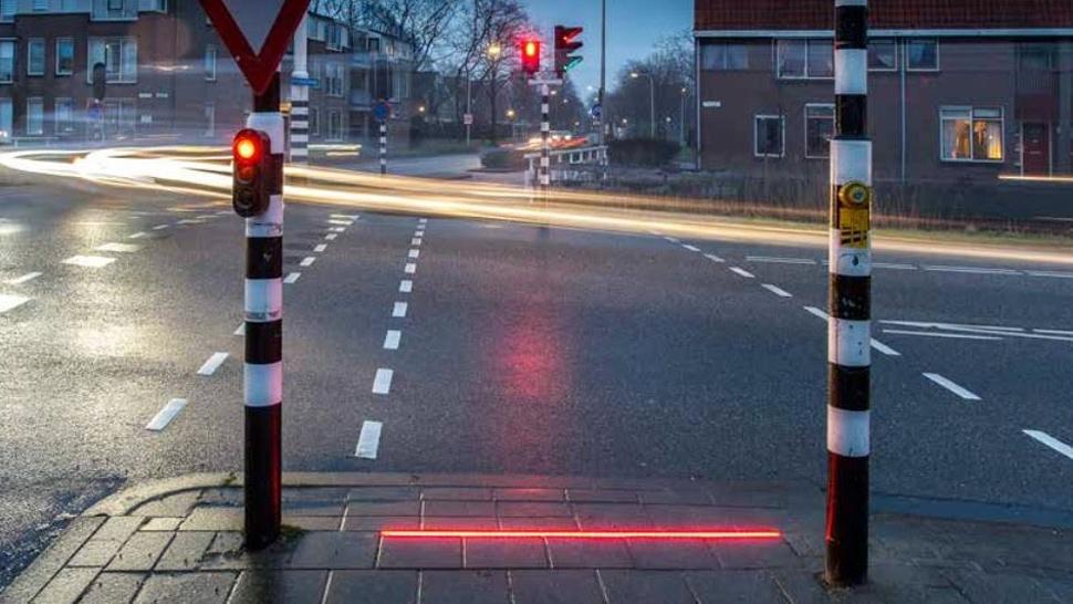 Activarán el primer semáforo de piso — Rosario