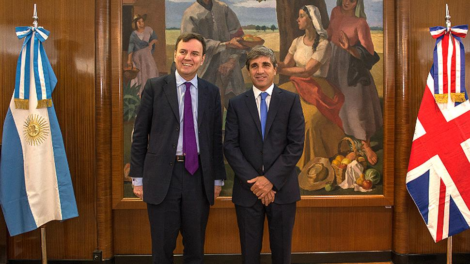 Argentina obtiene financiamiento de fondo del Reino Unido