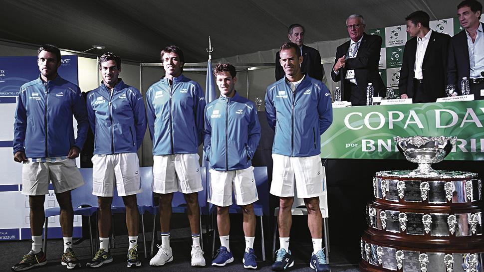 Argentina va contra Kazajistán — Tenis