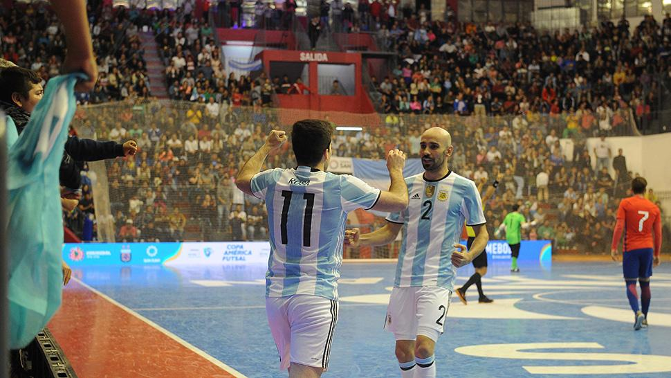 Vinotinto cerró la Copa América de FutSal con derrota ante Brasil
