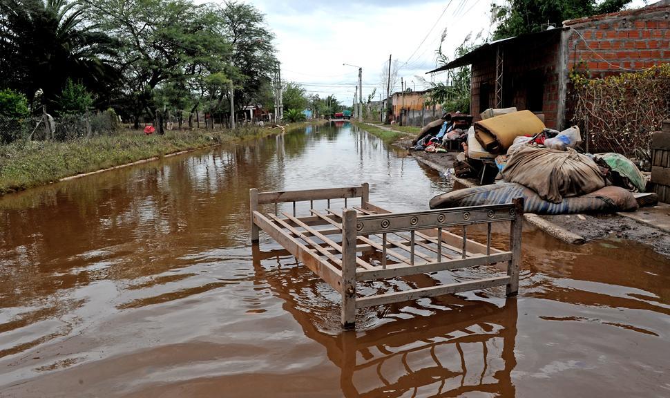 El Senado aprobó la emergencia en zonas inundadas
