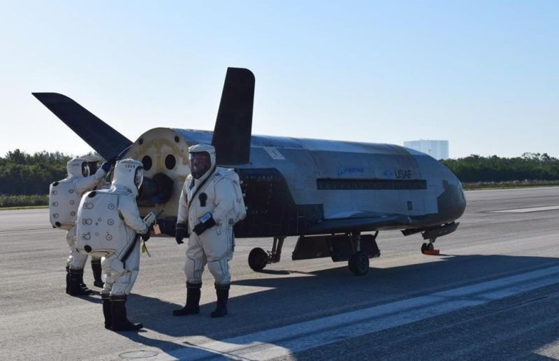 La nave no tripulada X-37B, un experimento militar secreto