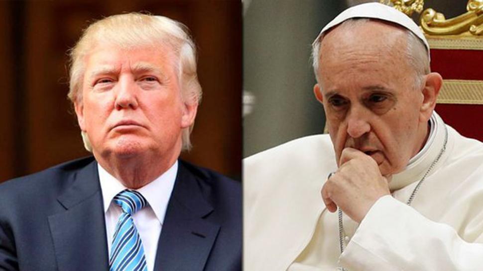 Resultado de imagen para papa francisco donald trump
