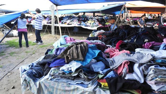 Durante cinco años no se podrá importar ropa usada
