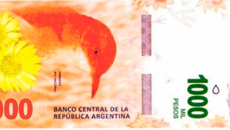 La salida del billete de 1000 pesos ya tiene fecha