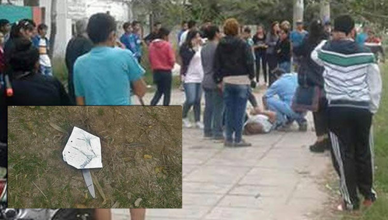 Una joven apuñaló a una compañera a la salida del colegio — Chaco