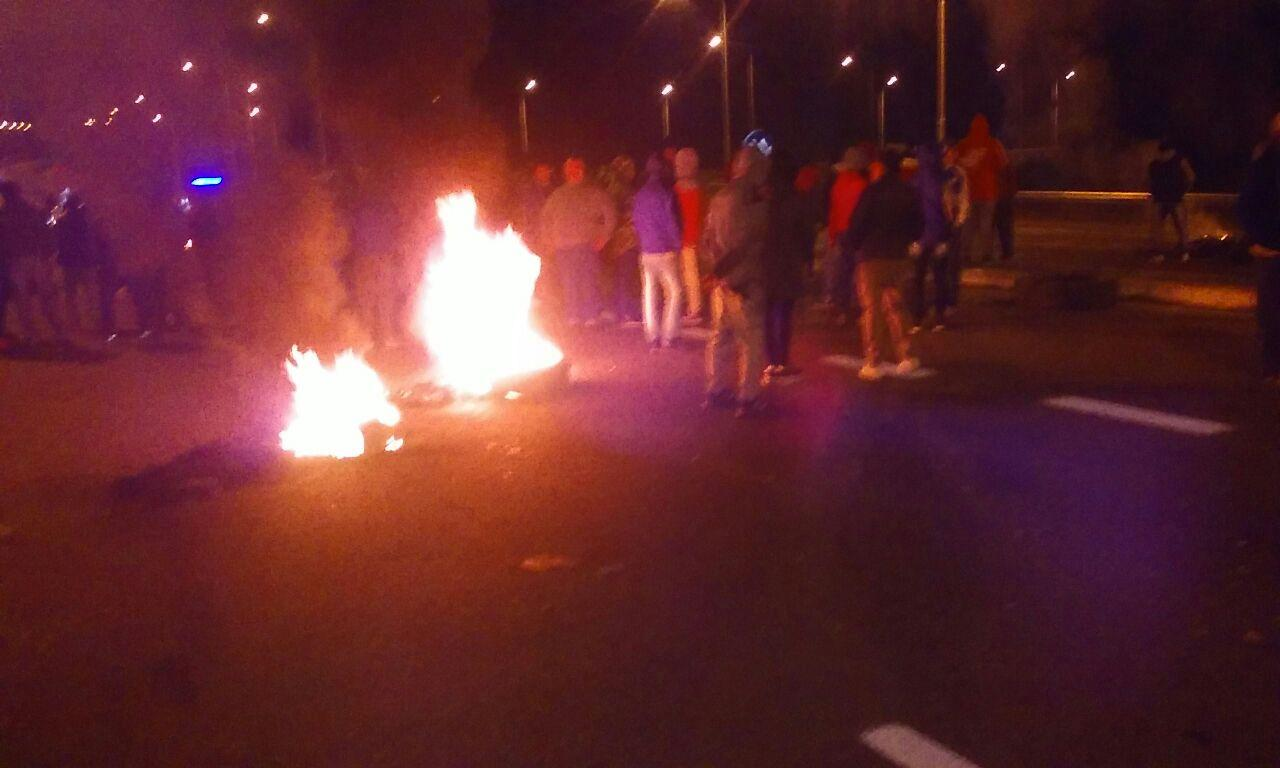 Contrabandistas cortaron la ruta porque Gendarmería les secuestra la mercadería
