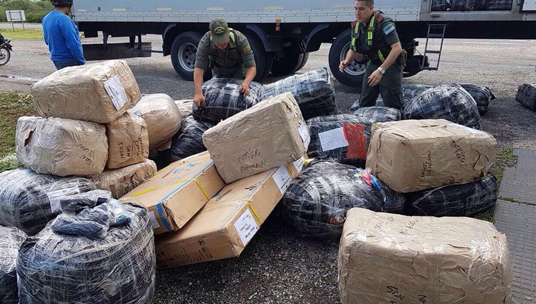 Insólito piquete de contrabandistas en Tucumán