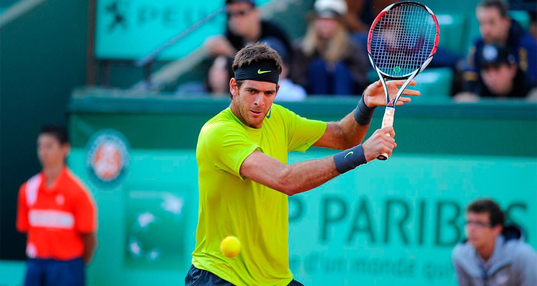 Del Potro ya tiene su rival de Roland Garros