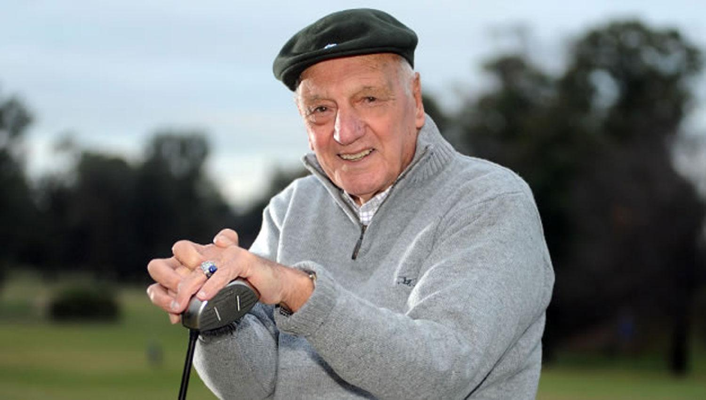 Murió Roberto De Vicenzo, la leyenda argentina del golf