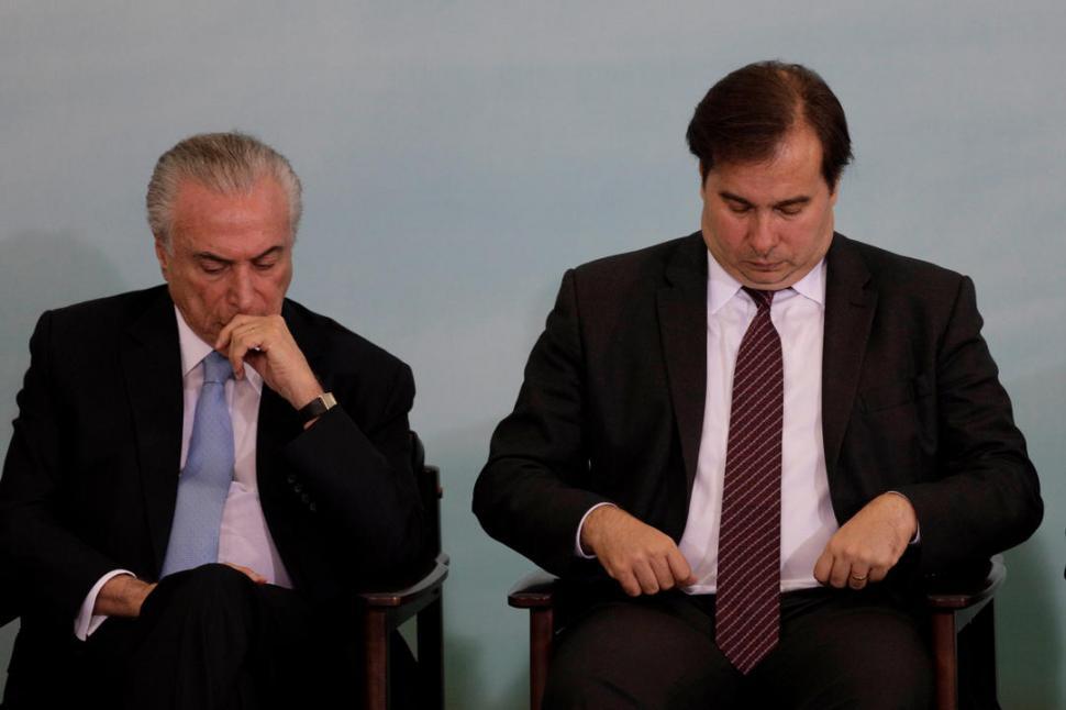 Michel Temer, tranquilo y sereno tras ser absuelto por corrupción