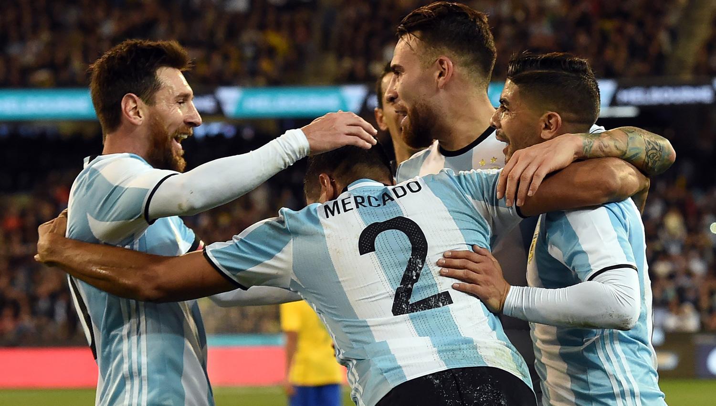 Así vivieron los hinchas argentinos en las redes el amistoso en Australia
