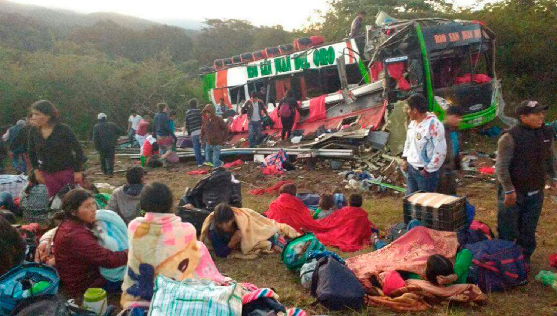 Un muerto y 63 heridos en accidente en Catamarca