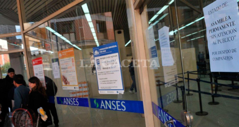 La atención se encuentra restringida en la Anses por una huelga nacional