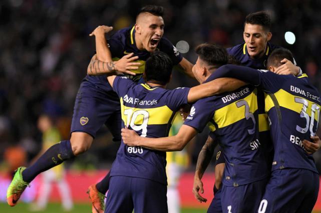 A un paso lograr el campeonato — Boca
