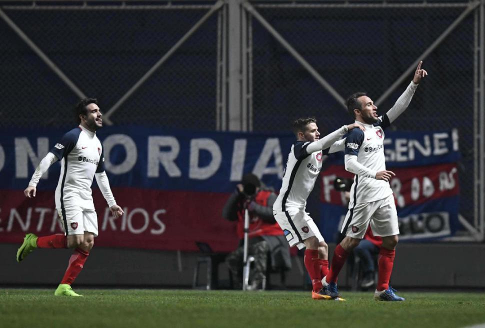El festejo de los jugadores del Boca Campeón