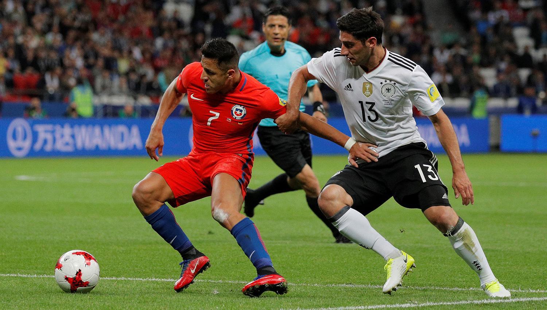 Chile califica a semifinales de la Copa Confederaciones