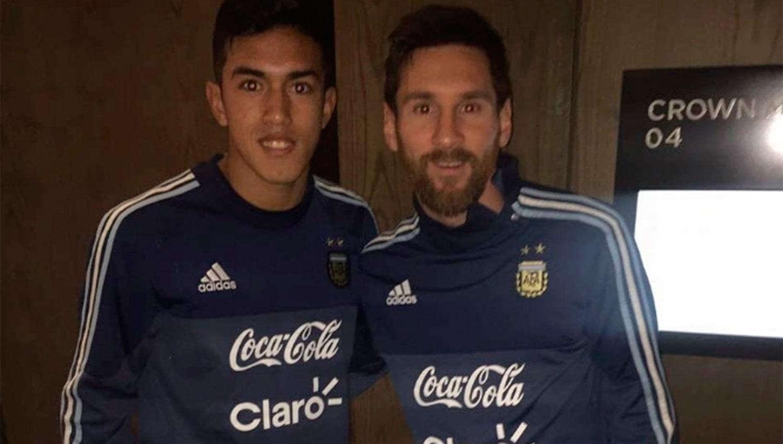 Con un jugador de Colón, los juveniles iniciaron sus entrenamientos en Ezeiza