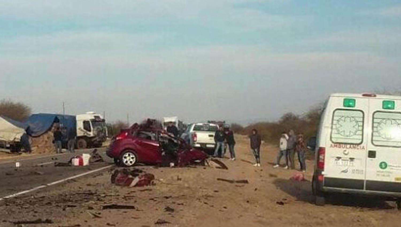 Una familia mendocina murió tras un accidente vial en La Rioja